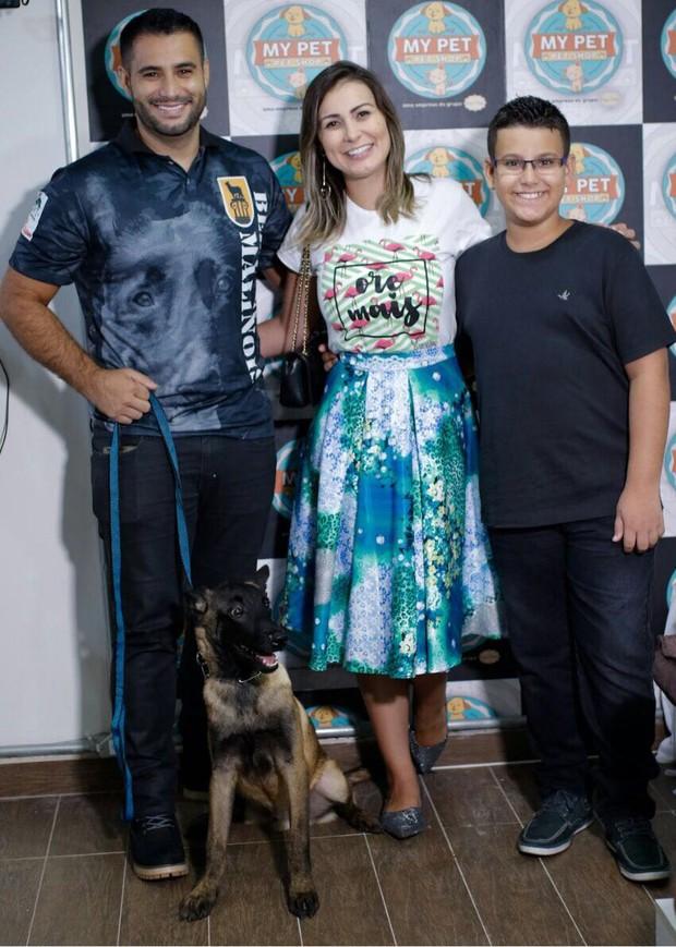 Tiago Costa, Andressa Urach, Arthur e Faruko (Foto: Fio Condutor)