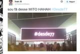 Telão da Arena Corinthians alfineta Ponte; presidente descarta provocação