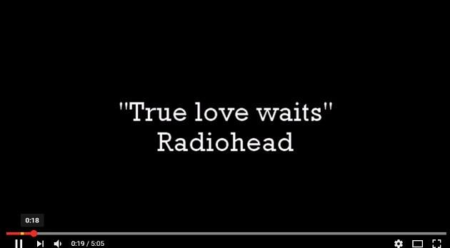 """Moon shaped pool"" da Radiohead"