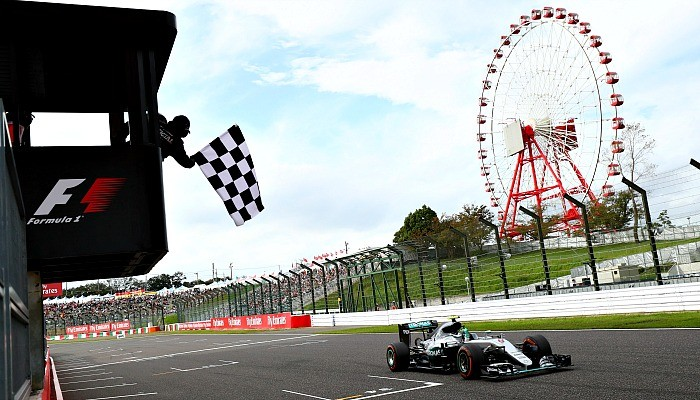 Nico Rosberg vence o GP do Japão