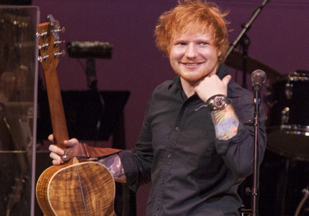 O cantor britânico Ed Sheeran (Foto: Getty Images)