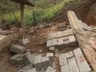 Homem morre após desabamento de muro durante chuva em Brumadinho