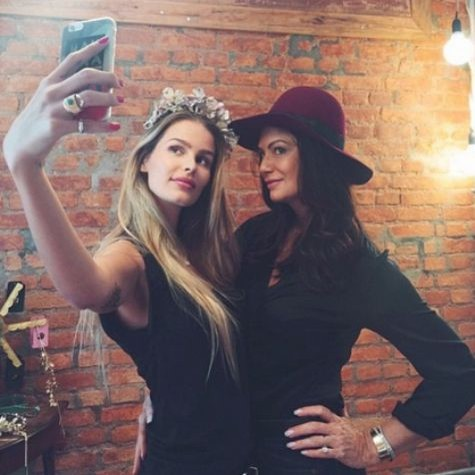 Yasmin e Luiza (Foto: Reprodução)