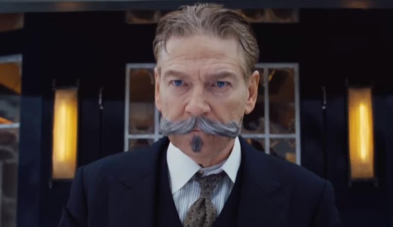 Kenneth Branagh como Hercule Poirot em 'Assassinato no Expresso do Oriente' (Foto: Reprodução/Youtube)