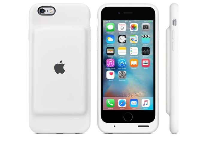 Apple lança capa oficial de bateria extra para iPhone 6S e 6 (Foto: Reprodução/Apple)