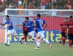Comemoração Vitória x Cruzeiro
