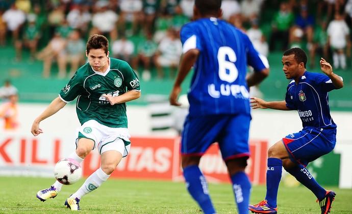 Guarani x São Caetano (Foto: Marcos Ribolli / Globoesporte.com)