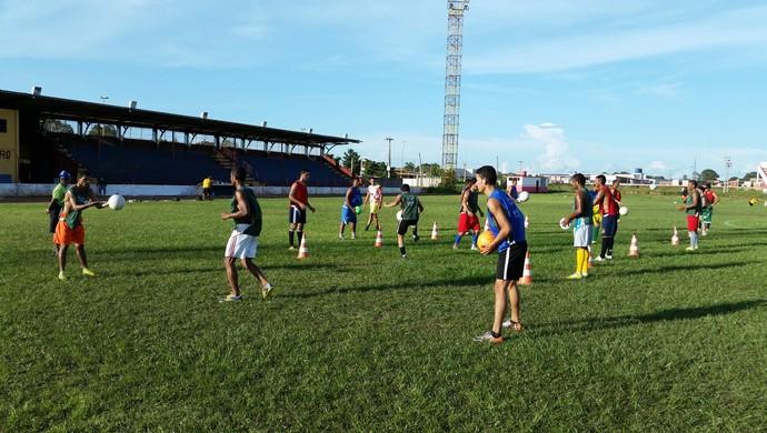 Guajará Rondônia treino (Foto: Dayanne Saldanha)