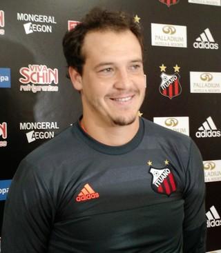 Diego, goleiro do Ituano (Foto: Emilio Botta)