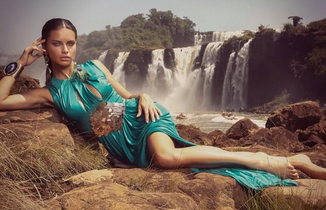 Adriana Lima (Foto: André Passos)