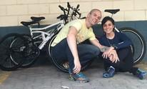 Casal junta bikes para projeto com crianças (Arquivo Pessoal/Luana Preterotti)