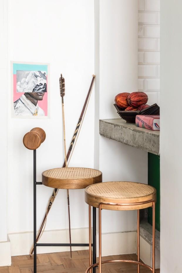 abbastanza Casa carioca mistura clima tropical, objetos artesanais e design  CW86
