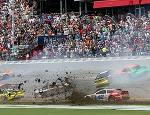 Big One acidente Nascar Daytona