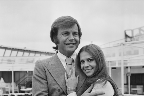 Robert Wagner e Natalie Wood (Foto: Getty Images)