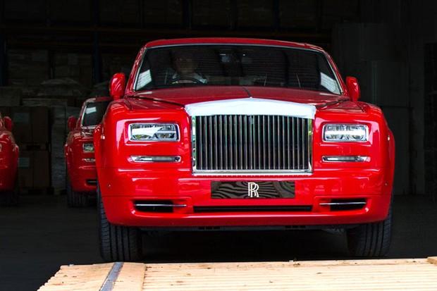Rolls Royce Phantom para o hotel Louis XIII em Macau (Foto: Divulgação)