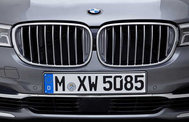Grade dianteira do BMW Série 7 (Foto: Divulgação)