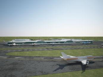 aeroporto Foz do Iguaçu 2039 (Foto: Fundo Iguaçu / Divulgação)