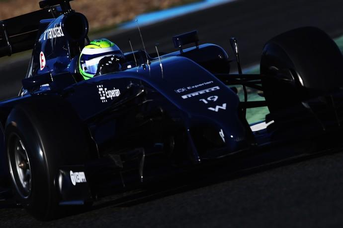Felipe Massa estreia na Williams em Jerez de la Frontera (Foto: Getty Images)