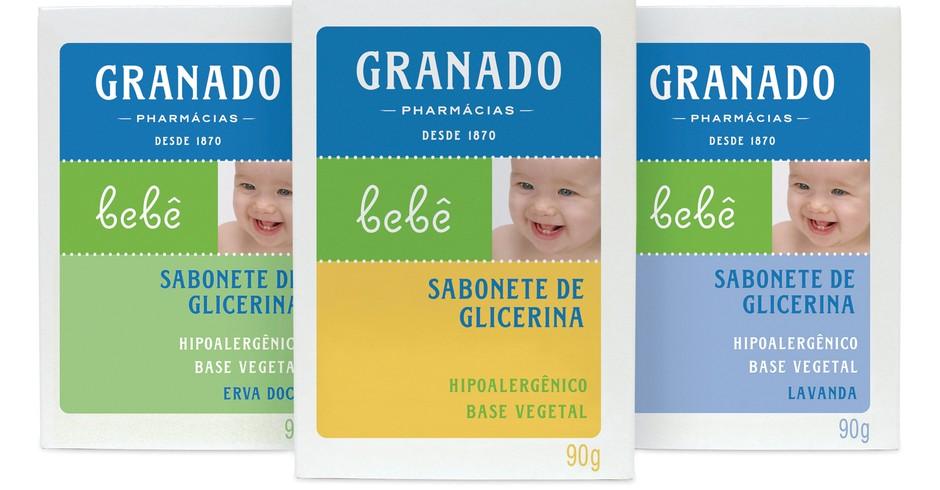 Sabonete de Glicerina Granado: higieniza com delicadeza (Foto: Divulgação)