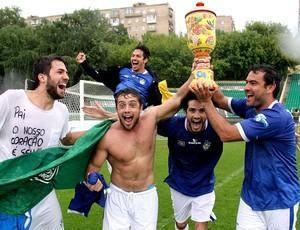 Brasil é campeão da Copa do Mundo dos Artistas (Foto: Cleomir Tavares)