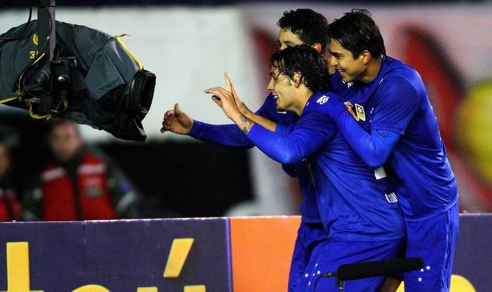 Ricardo Goulart Cruzeiro gol internacional (Foto: Agência Getty Images)