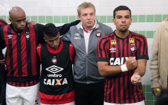 Atlético-PR (Foto: Reprodução/Youtube)