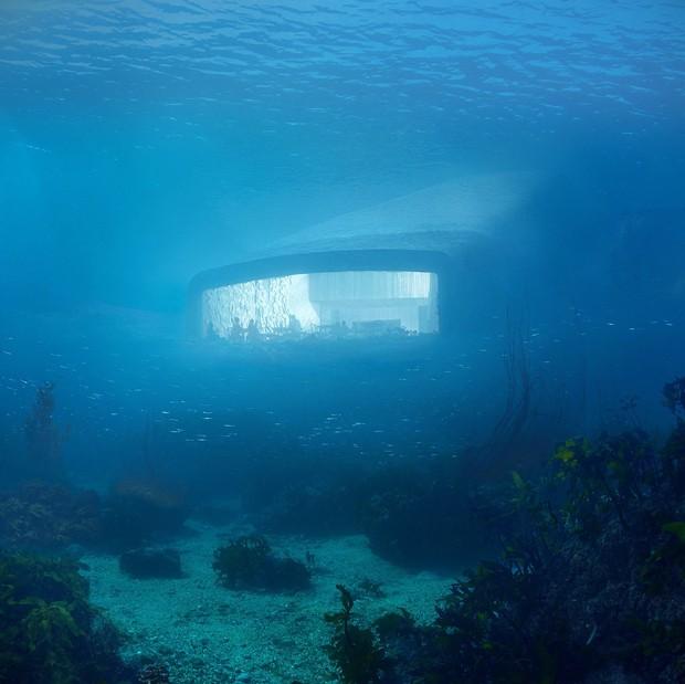 snohetta-under-restaurante-submerso (Foto: Reprodução )