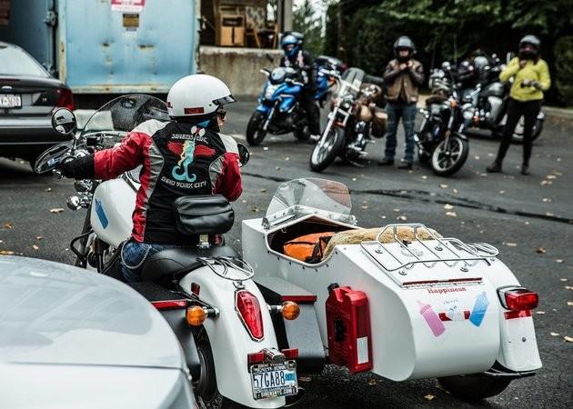 Motoqueiras do Sirens (Foto: Divulgação)