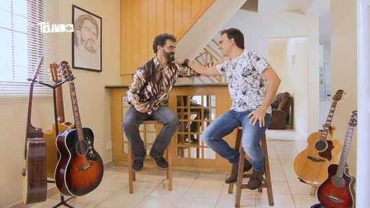 Mário conhece 'Renato Quase Russo' - TV Integração