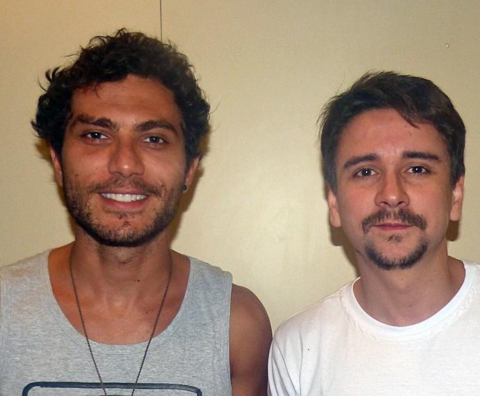 Bruninho e Davi (Foto: Gabriella Dias/Gshow)