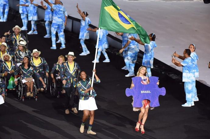 Cerimônia de abertura da Paralimpíada Rio 2016 (Foto: André Durão)