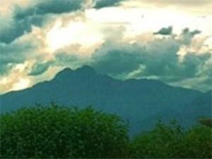 Pico dos Marins, em Piquete (Foto: Fábio França/ G1)