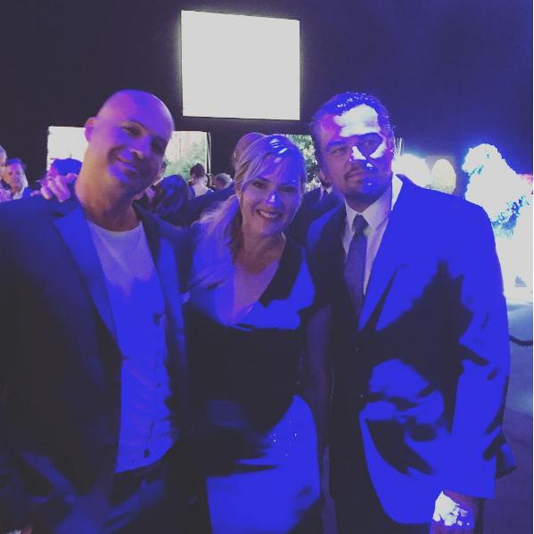 Billy Zane, Kate Winslet, Leonardo diCaprio (Foto: Reprodução/Instagram)