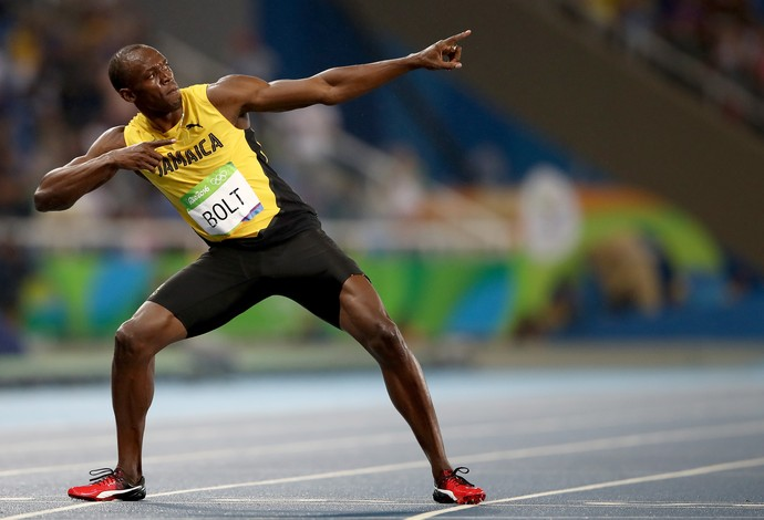 Usain Bolt ouro final 200m Olimpíada Rio 2016 (Foto: Getty Images)