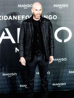 Zidane é o novo garoto-propaganda de marca espanhola