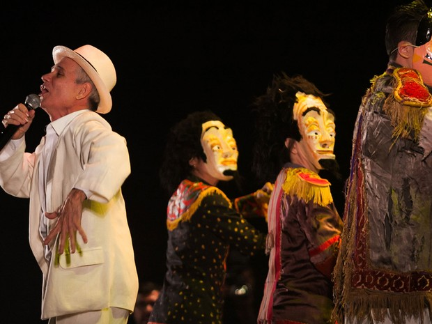 Luta pela manutenção do Instituto Brincante, teatro-escola fundado por Nóbrega em São Paulo, é destaque no evento (Foto: Festival de Circo do Brasil/Rogério Vieira/Divulgação)