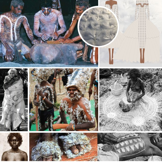 O trabalho dos aborígenes inspirou Vanessa (Foto: Divulgação)