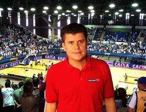 Atualmente, Odinei Ribeiro trabalha no SporTV / PFC (Foto: Divulgação / Arquivo pessoal)