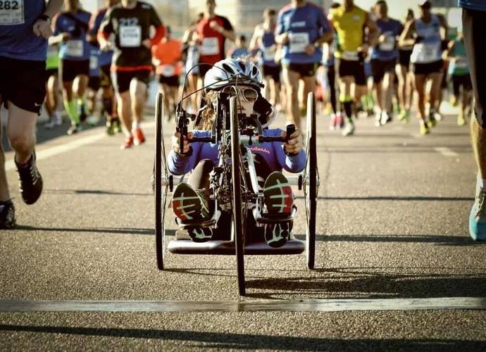 Danielle Nobile: a paixão pela corrida a ajudou nos momentos mais difíceis (Foto: ARQUIVO PESSOAL)