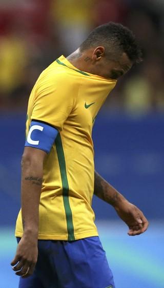 Neymar Augusto Brasil x Iraque (Foto: Reuters)