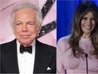 Estilistas disputam para vestir Melania Trump em cerimônia de posse