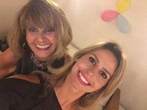 Daiane Fardin e a mãe (Foto: Redes Sociais)