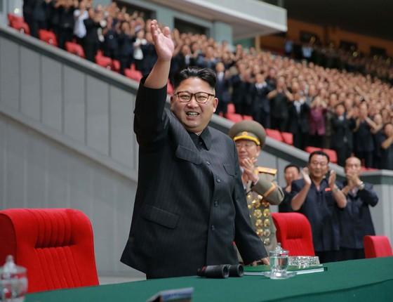 Kim Jong-un ditador norte-coreano (Foto:  AFP)