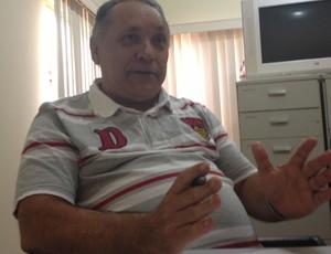 Diretor técnico da FFER, João Dalmo (Foto: Larissa Vieira/GLOBOESPORTE.COM)