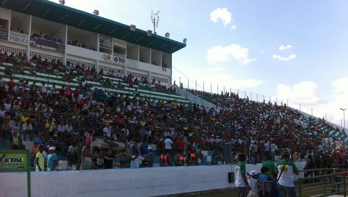 Estádio Marizão, Sousa (Foto: Jefferson Emanuel / GloboEsporte.com/pb)