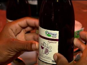 Vinho orgânico no Vale do São Francisco  (Foto: Reprodução/ TV Grande Rio)