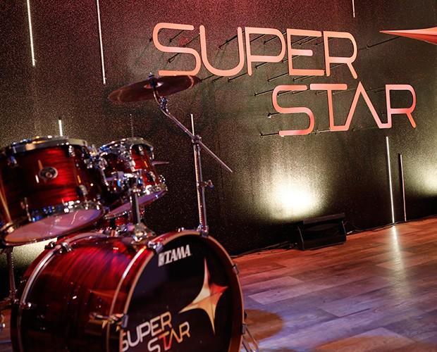 cenário coletiva superstar (Foto: Fábio Rocha/Gshow)
