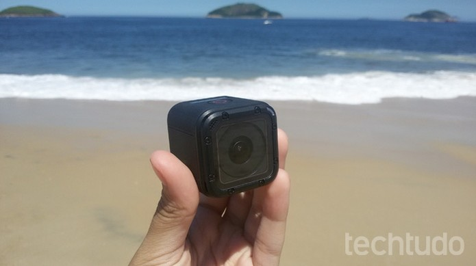 GoPro Hero 4 Session (Foto: Isabela Giantomaso/TechTudo)