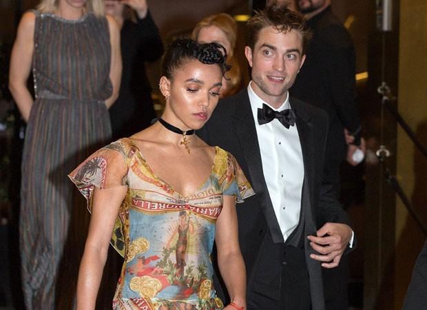 Robert Pattinson e FKA Twigs (Foto: AKM/GSI)