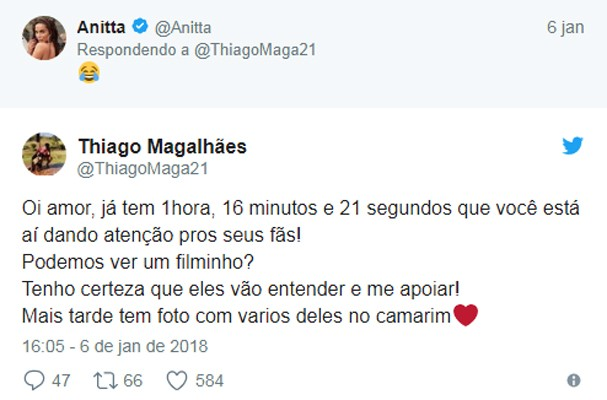 Anitta e Thiago (Foto: Reprodução)